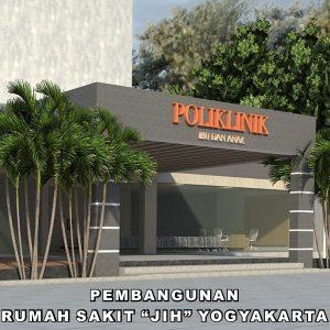pembangunan rumah sakit JIH ibu dan anak adalah salah satu hasil dari PT.EMKA Architect Group
